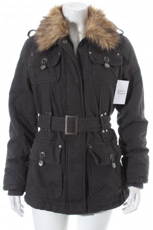 Tomster USA Parka dunkelgrau Casual-Look
