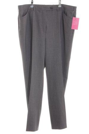 Toni Pantalone culotte grigio chiaro puntinato stile professionale