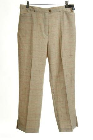 Toni Dress Pantalone da abito beige Pied de poule stile professionale