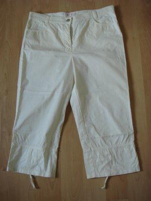 Toni Dress 7/8-jeans wolwit Katoen