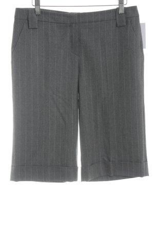 Toni Gard Short taille haute gris-blanc motif rayé style d'affaires