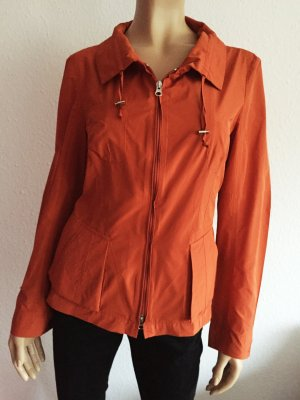 Toni Gard Jacke Gr. 40 Orange Cardigan Blusenjacke Sommerjacke Bluse dünn dünne