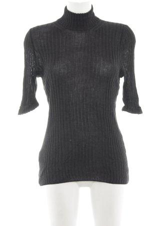 Toni Gard Sweater met korte mouwen lichtgrijs casual uitstraling