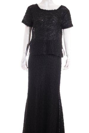 Toni Gard Maxirock schwarz Elegant