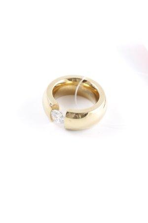 Toni Gard Bague incrustée de pierres doré style d'affaires