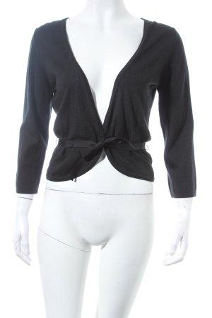 Toni Gard Strickjacke schwarz schlichter Stil