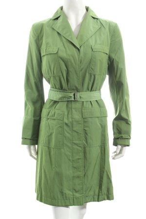 Toni Gard Trenchcoat grasgrün extravaganter Stil