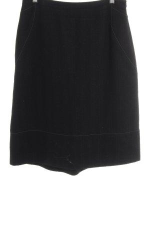 Toni Gard Gonna di lana nero modello web Stile anni '60