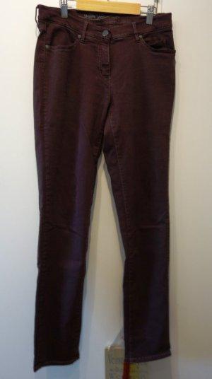 TONI Perfect Shape Denim Jeans Hose Gr. 38 (32er Länge) rotbraun bordeaux
