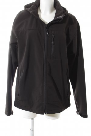 Tony Brown Windbreaker black casual look