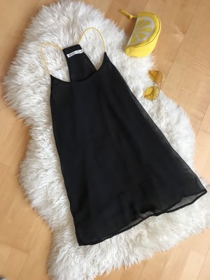 Cut Out Top black-yellow