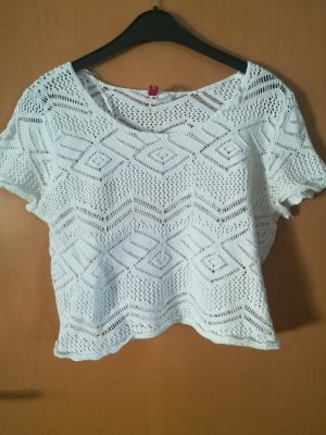 Woman for H&M Knitted Top white