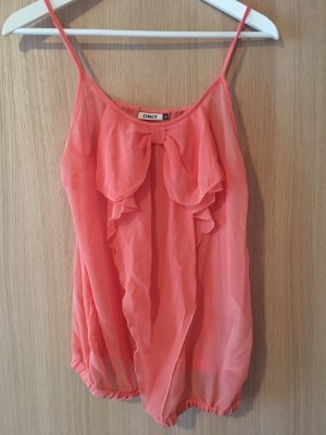 Only Blouse Top bright red