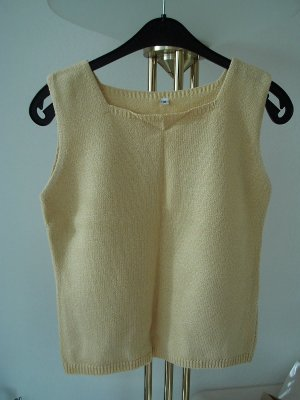 Knitted Top gold-colored polyacrylic