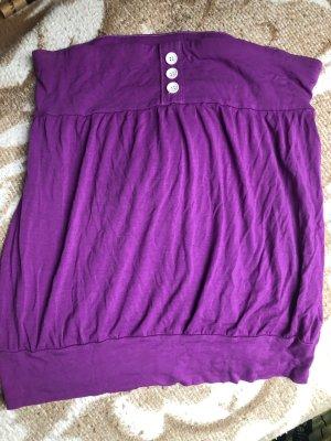 Bustier Top lilac-violet