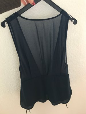 Vero Moda Silk Top dark blue