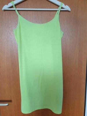 H&M Top long jaune citron vert