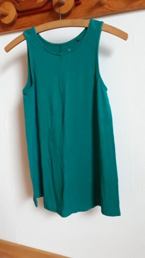 C&A Basic Top green-forest green viscose