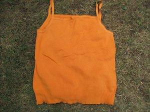 Gap Knitted Top orange cotton