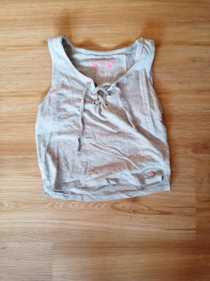 Empire Waist Top light grey