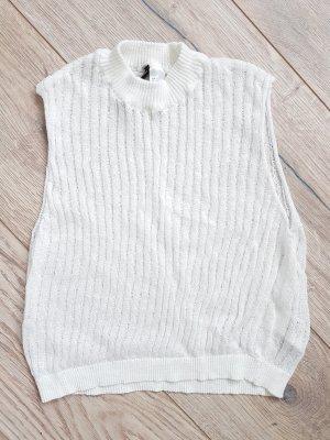 H&M Top básico blanco