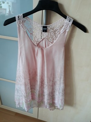 Hailys Blouse topje rosé-lichtgroen Polyester