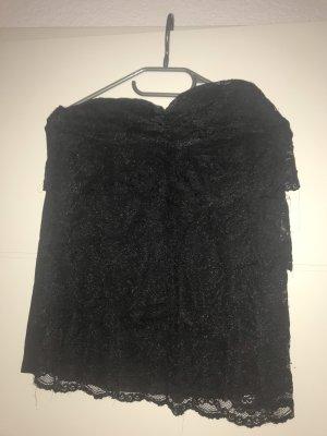 Off the shoulder top zwart