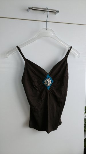 Spaghetti Strap Top dark brown