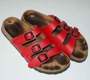 Birkenstock Sandalias cómodas magenta
