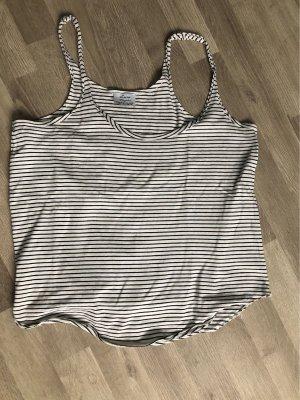 Zara Trafaluc Haut basique blanc-noir