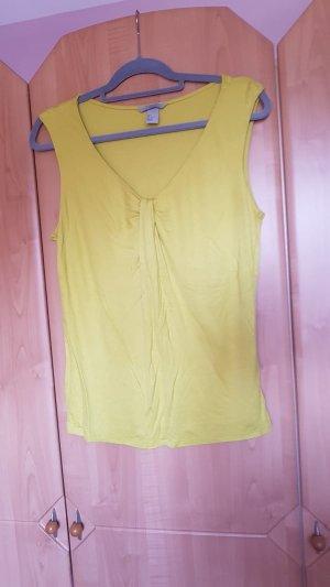 H&M Watervaltop limoen geel