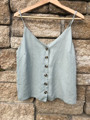 New Look Blouse Top sage green
