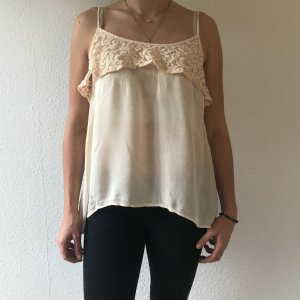 Review Crochet Top pink