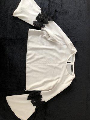 Haut basique blanc-noir