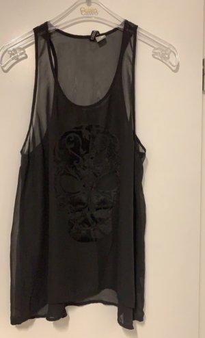H&M Tanktop zwart