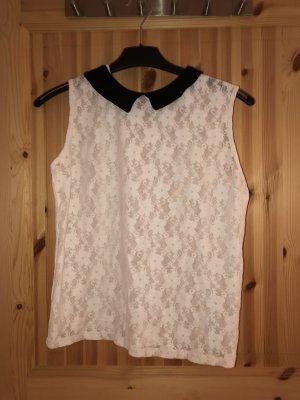 Primark Camisa de mujer blanco-negro