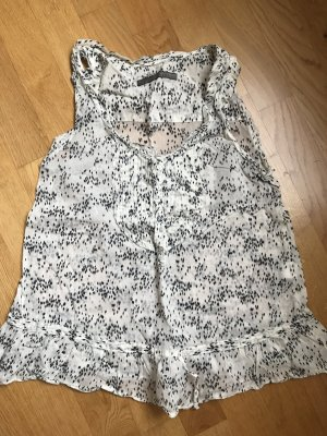 Zara Basic Blusa bianco sporco