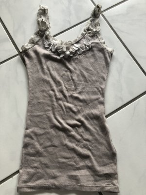 Abercrombie & Fitch Strappy Top grey brown