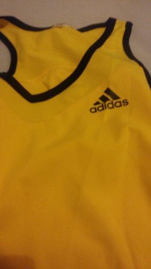 Top Adidas gelb schwarz