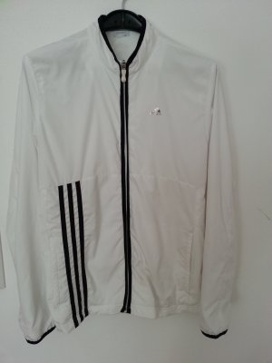 Top! Adidas Jacke Weste M 40 weiß schwarz