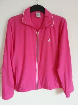 Top! Adidas leichte Jacke pink Größe 40 M