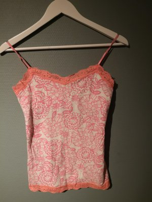 Aeropostale Top wit-zalm