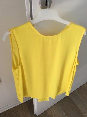 Mango Blouse Top yellow