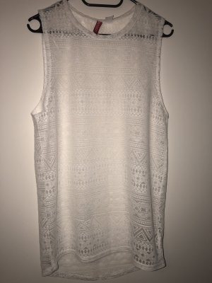 H&M Long Top white