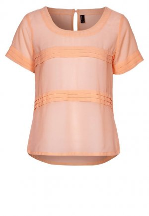 Top Bluse apricot Gr. S