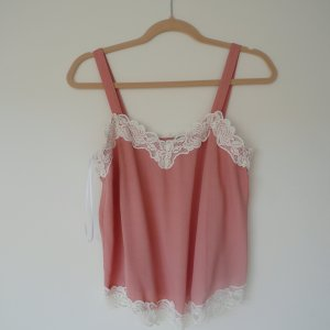 Top / Bluse aus Spitze / Lace in altrosa NEU!!! aus H&M süß