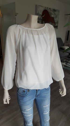 Blusa transparente multicolor