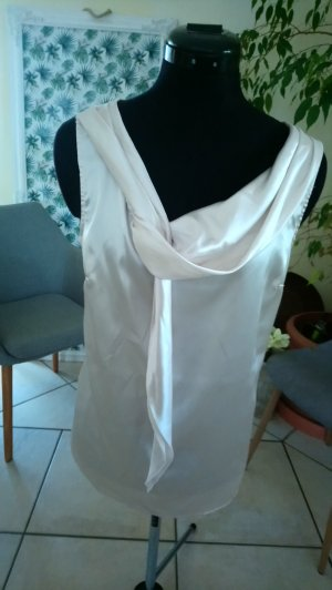 Votre Mode Tie-neck Blouse natural white-cream