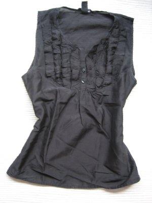 top bluse H&M schwarz gr. xs 34 topzustand