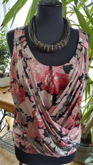 Top / Bluse mit Blumenmuster von H&M